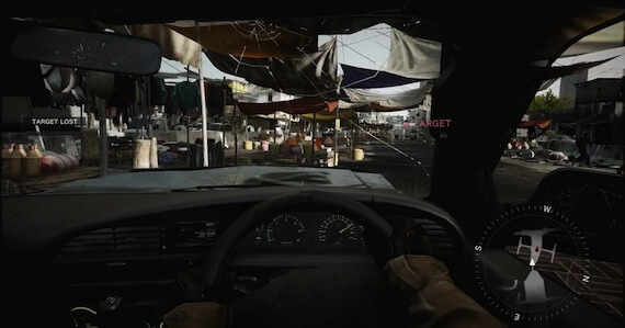 Medal of Honor Warfighter Review - Driving Sections