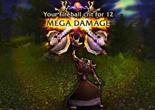 World of Warcraft Mega Damage
