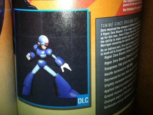 Mega Man Costume DLC Ultimate Marvel vs Capcom 3