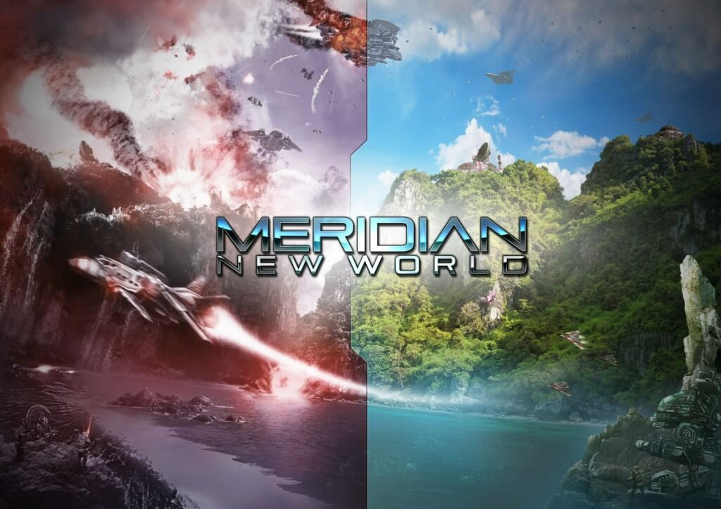 'Meridian: New World', An Epic Sci-Fi RTS Made By One Person