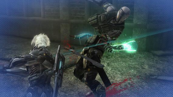 Metal Gear Rising Revengeance Blade Mode
