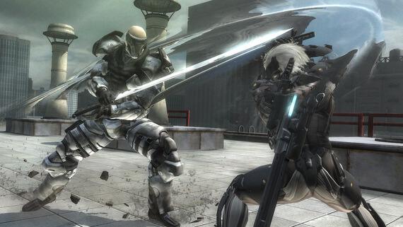 Metal Gear Rising Revengeance Combat