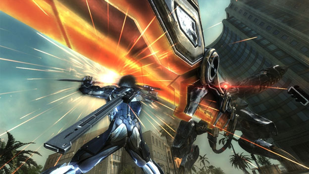 'Metal Gear Rising: Revengeance' Tutorial Showcases Raiden's Blade