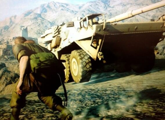 Metal Gear Solid 5 Project Ogre