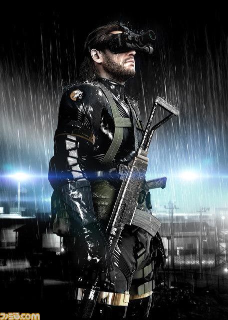 Metal Gear Solid Ground Zeroes Art Work