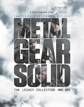 Metal Gear Solid Legacy Collection Box Art