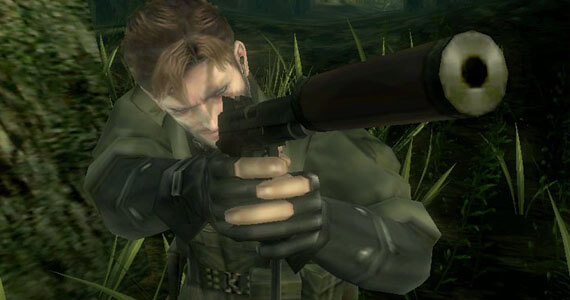 Metal Gear Solid Snake Eater 3D Gameplay