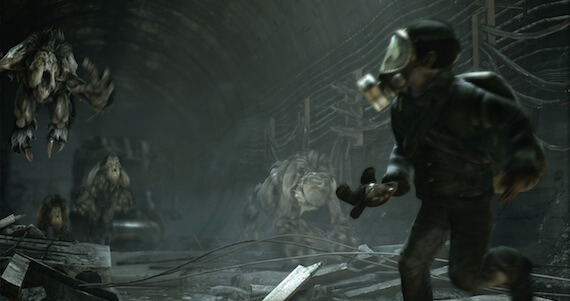 Metro Last Light Review - Creature Enemies
