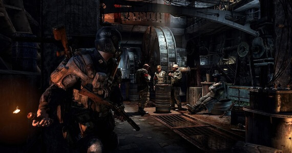 Metro Last Light Review - Stealth Sections