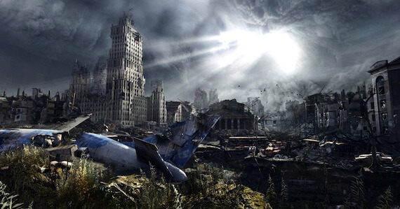 Metro Last Light Review - Surface Environment