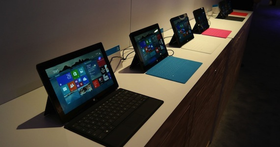 Microsoft Unveils New Surface 2 and Surface Pro 2 Tablets