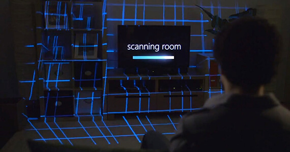 Microsoft Research Breaks Barriers With IllumiRoom