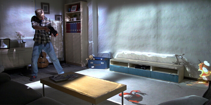 Microsoft Showcases 'RoomAlive,' A Kinect-Powered Augmented Reality
