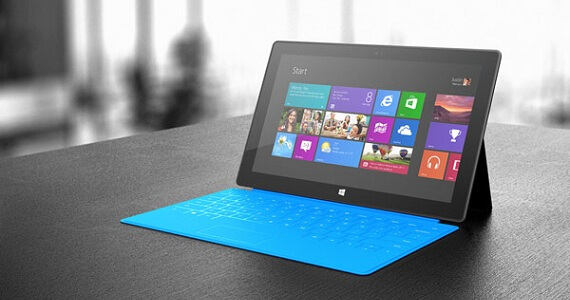 Microsoft Surface with Windows RT Pricing & Availability Details