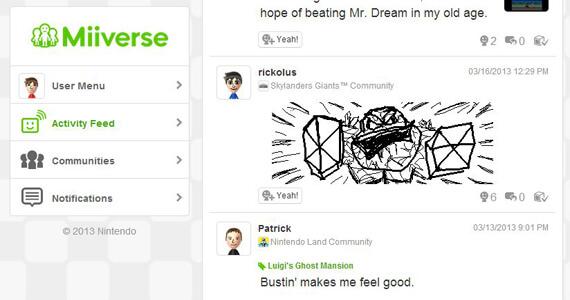 Miiverse Browser Beta Nintendo