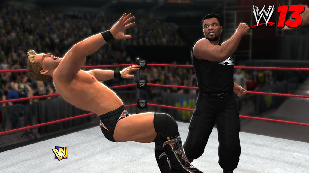 Mike Tyson Invades 'WWE 13'