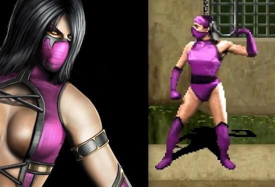 Mileena in Mortal Kombat