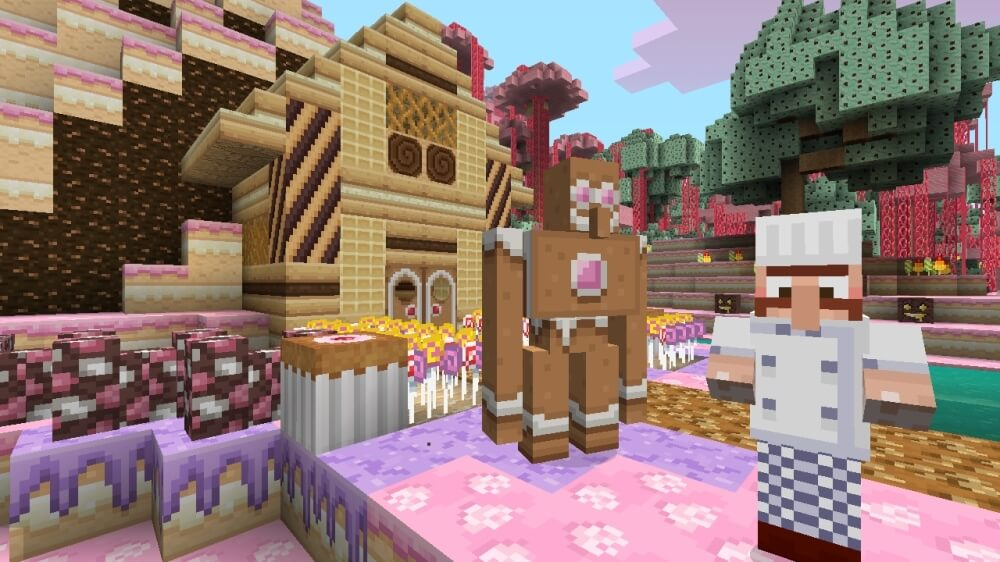 'Minecraft: Xbox 360 Edition' Receives Candy Texture Pack