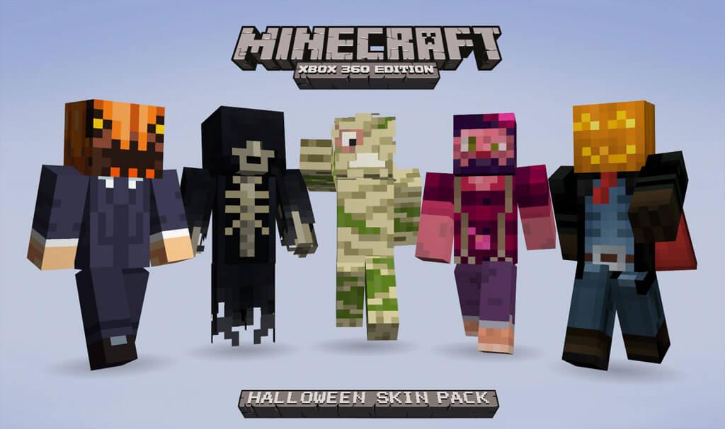 Spooky 'Minecraft' Skins Land on XBLA