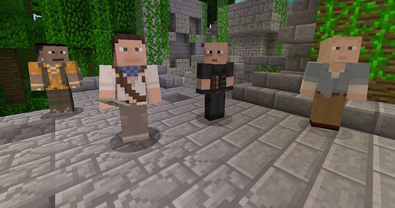 Sony Exclusive Skins Hit 'Minecraft' PS3