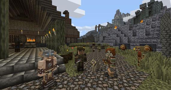 Minecraft: Xbox 360 Edition Gets Skyrim DLC