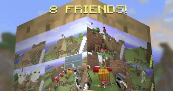 'Minecraft: Xbox 360 Edition' Trailer Builds Excitement for Multiplayer