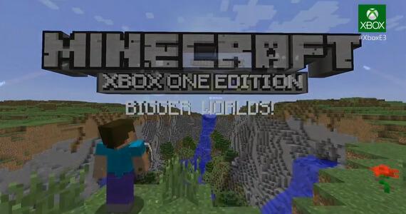 Microsoft Unveils 'Minecraft: Xbox One Edition'