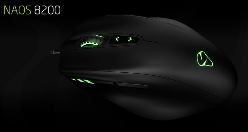 Mionix NAOS 8200 Gaming Mouse Review