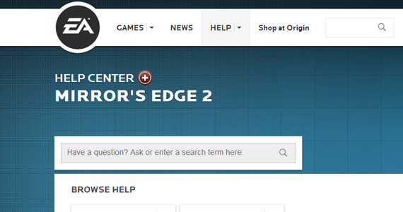 'Mirror's Edge 2' Spotted in EA's Help Center