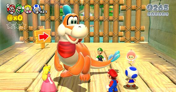 Miyamoto Talks Super Mario 3D World