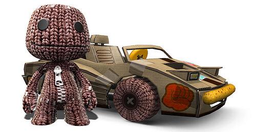 ModNation Racers meets LittleBigPlanet