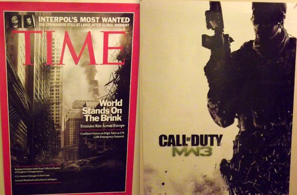 Modern Warfare 3 Gamestop Pre Order Poster Unveiled Game Rant
