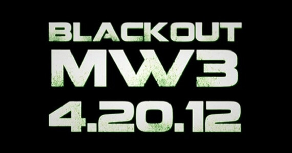 Gamers Planning to Stage April 20 Blackout of 'Modern Warfare 3'