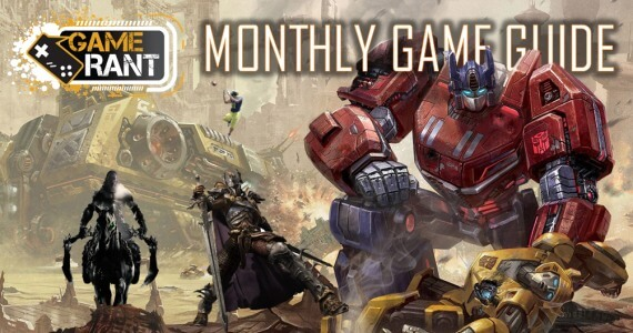 The Monthly Game Guide: August 2012 Edition