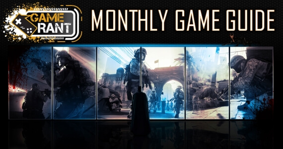 Monthly Game Guide October
