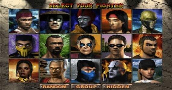 Mortal Kombat 4 Select
