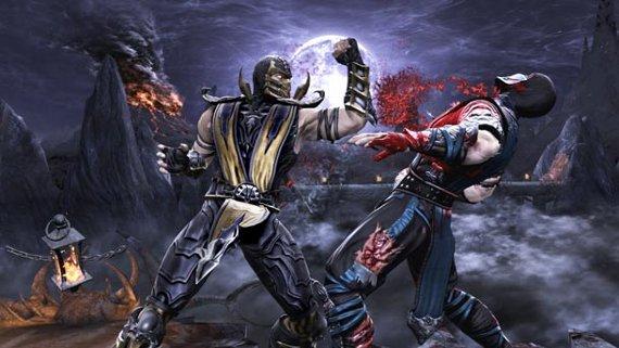 Scorpion and Sub-Zero in Mortal Kombat