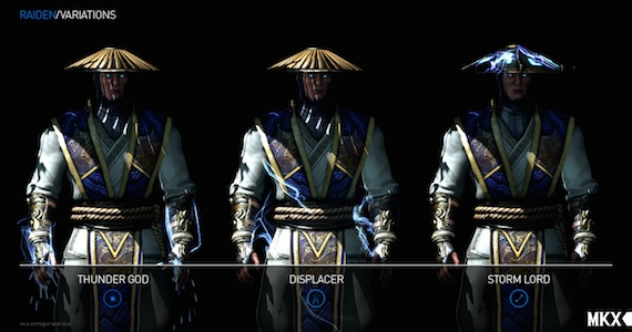 Mortal Kombat X (Raiden Variation Gameplay)