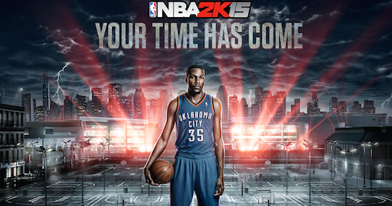 'NBA 2K15' Cover Athlete is 2014 NBA MVP Kevin Durant