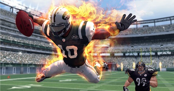 NFL Blitz Review - On Fire