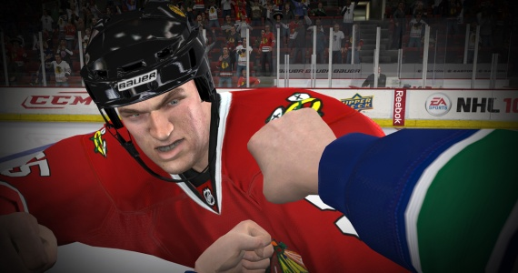 NHL 12 Goalie Fights