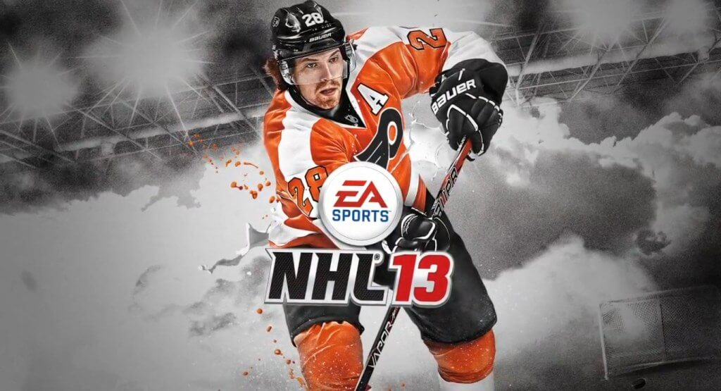Claude Giroux Is 'NHL 13′ Cover Athlete