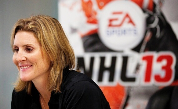 'NHL 13′ Adds Women Olympians Wickenheiser & Ruggiero