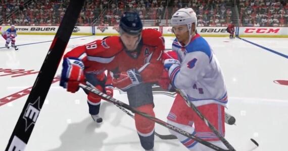 NHL 14 Screenshot Bodycheck