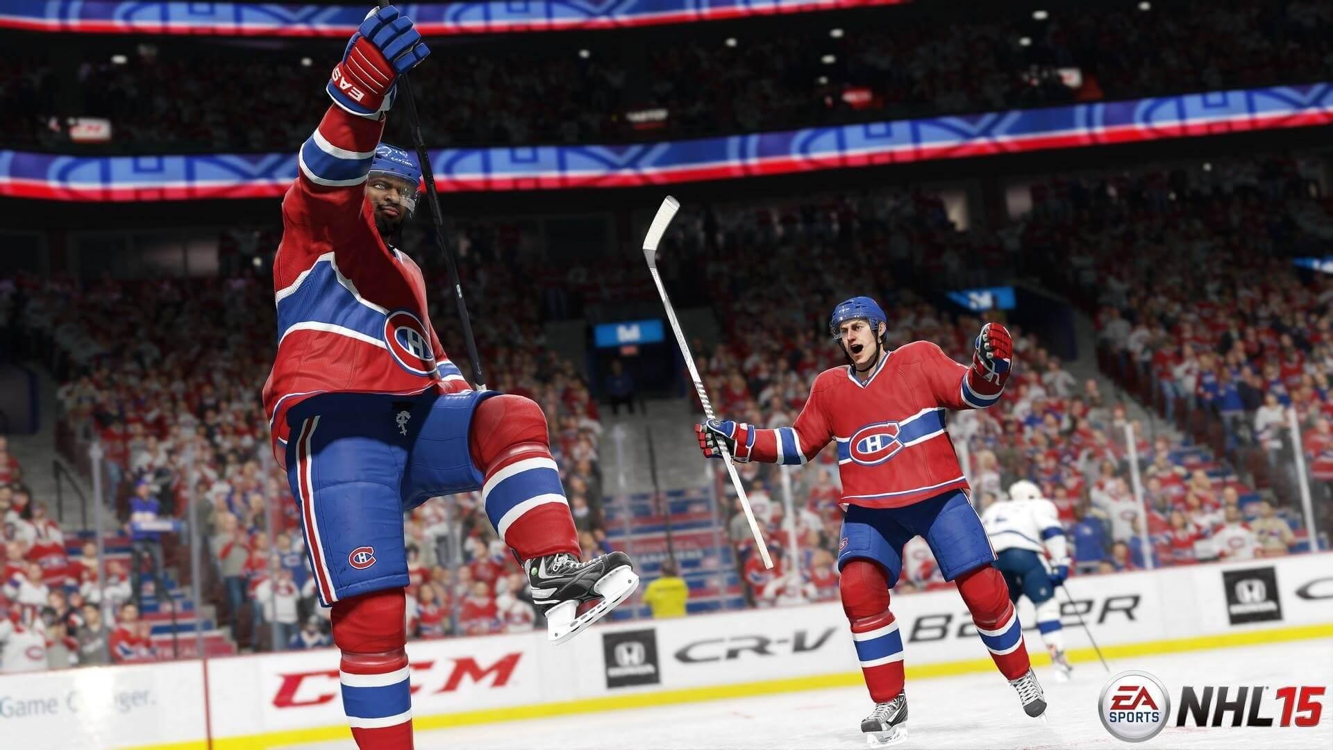 'NHL 15' Demo Impressions