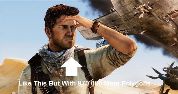 Naughty Dog Making 1 000 000 Polygon Character Models