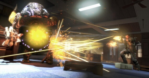 NeverDead Gun Combat