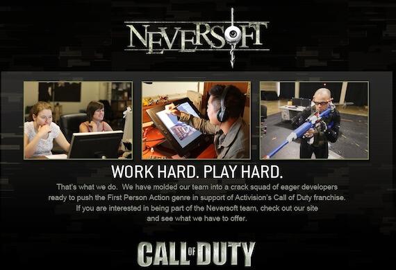'Tony Hawk' Developer Neversoft Working on New 'Call of Duty' Title