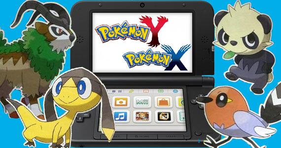 Catch a Glimpse of the New Pokemon in 'Pokemon X' & 'Y'