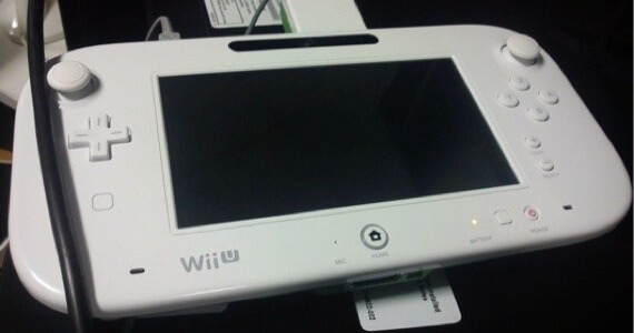 Image of New Wii U Controller Design Leaked by Game Tester
